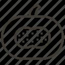diet, food, fruits, health, pumpkin, tropical icon