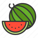 food, fruit, healthy, summer, vitamin, watermelon