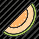 food, fruit, healthy, melon, melon slice, vitamin
