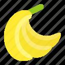 banana, food, fruit, hand of bananas, healthty, vitamin icon