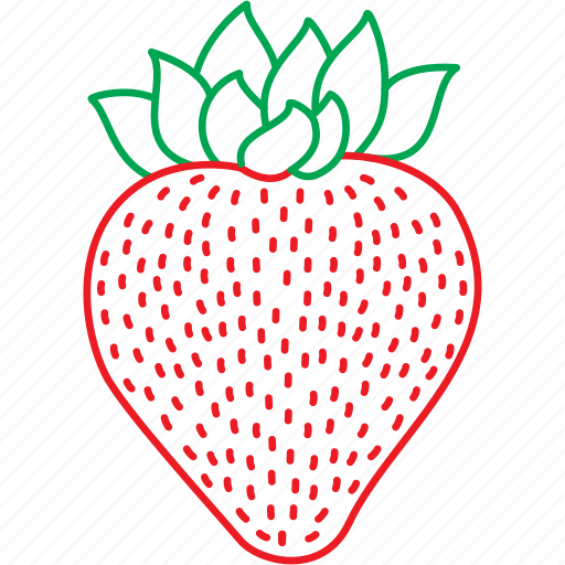 Berries, fruits, strawberries, strawberry icon - Download on Iconfinder