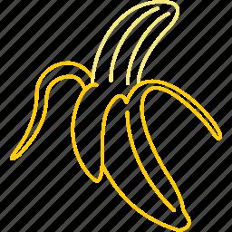 banana, bananas, fruit, sweet icon