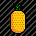 food, fresh, fruit, pineapple icon