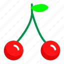 cherries, food, fresh, fruit