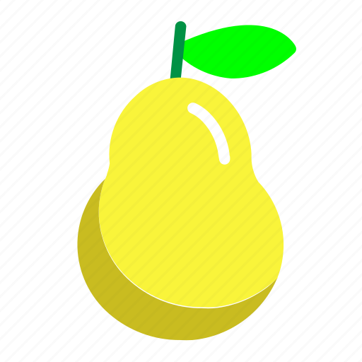 Food, fresh, fruit, pear icon - Download on Iconfinder