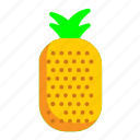 food, fresh, fruit, pineapple icon