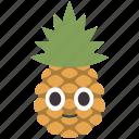 ananas, diet, fruit, pineapple icon