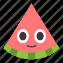 emo, fruit, melon, watermelon icon