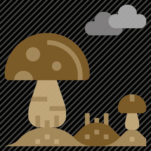 Food, fungi, muscaria, mushroom, nature icon - Download on Iconfinder
