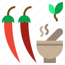 appetizer, chili, food, spicy, vegetable icon
