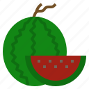 diet, food, fruit, vegetarian, watermelon icon