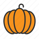 food, fruit, organic, pumpkin, vegetable icon