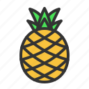 food, fresh, fruit, pineapple, sweet icon