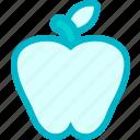 apple, dessert, food, fruit, fruits, restaurant, vegetable icon