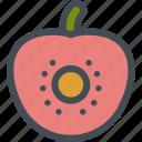 food, fruit, fruits, healthy, sliced, tomato, vegetable