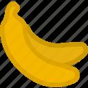 banana, dessert, food, fruit, fruits, healthy, sweet icon