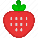 dessert, food, fruit, fruits, healthy, strawberry, sweet icon