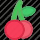 cherry, dessert, food, fruit, fruits, healthy, sweet icon