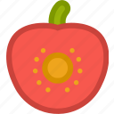 cook, food, fruit, fruits, kitchen, sliced, tomato icon