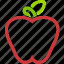 apple, dessert, food, fruit, fruits, healthy, sweet icon