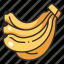 food, banana, vegetarian, diet, fruit