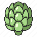 plant, healthy, artichoke, food, organic, vegetable
