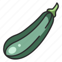 nutrition, diet, healthy, food, vegetable, zucchini, vegetarian icon