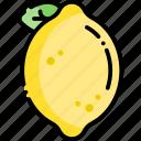 lemon, lime, fruit, healthy food, food