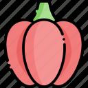 pepper, paprika, vegetable, healthy food, food