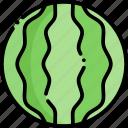 watermelon, fruit, healthy food, food