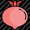 pomegranate, fruit, healthy food, food