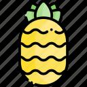 pineapple, fruit, healthy food, food