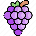 grape, fruit, healthy food, food