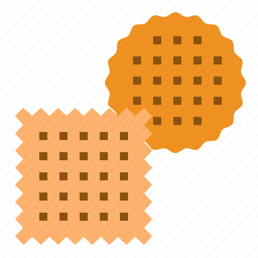 biscuit, cookie, cracker, food icon