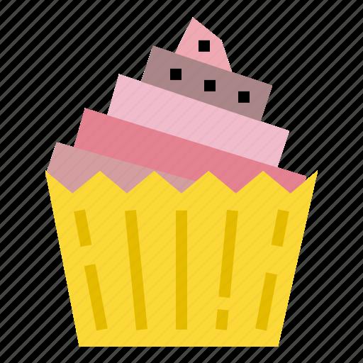 cake, cupcake, food, muffin icon