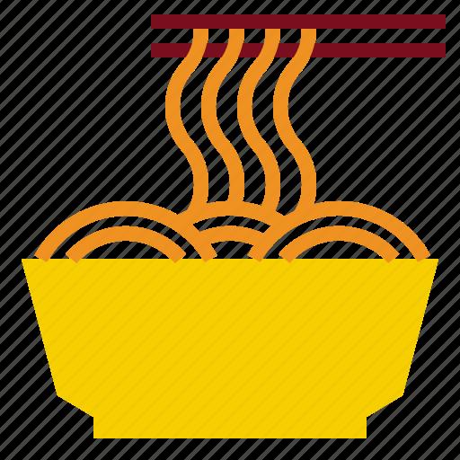 fastfood, food, noodledish icon