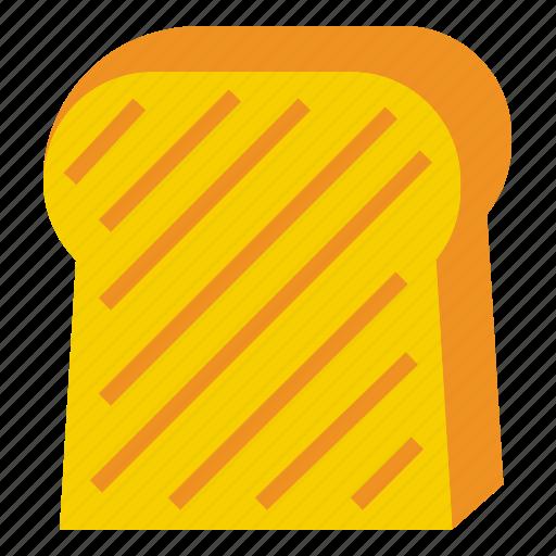 slice, toast, toasterbread icon