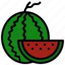 diet, food, fruit, vegetarian, watermelon icon