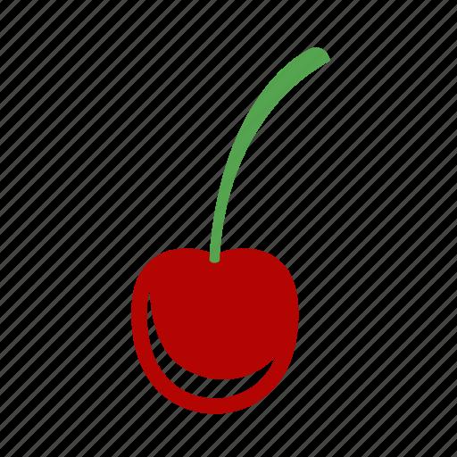 cherry, fruit, spring icon