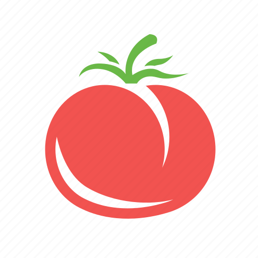 food, garden, healthy food, tomato icon