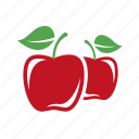 apple, food, fresh, red, sweet icon