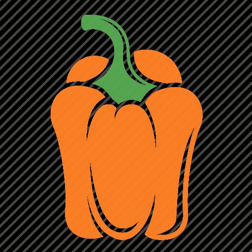 bell pepper, food, pepper, vegetable icon