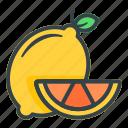 lemon, fruit, food