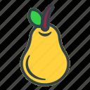 pear, fruit, food, vegetable, healthy