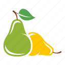 cooking, fresh, pear, vegetable icon