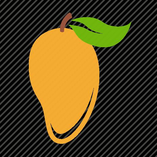 food, fruit, healthy food, mango icon