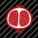 food, fruit, healthy food, pomegranate
