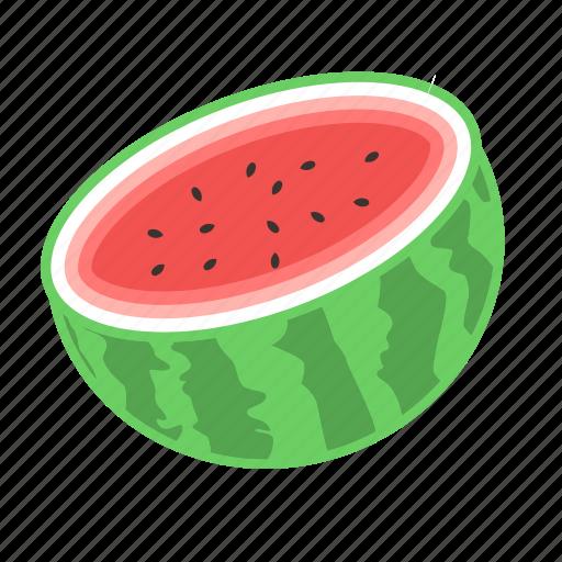 fresh fruit, fresh melon, fruit, melon, watermelon icon