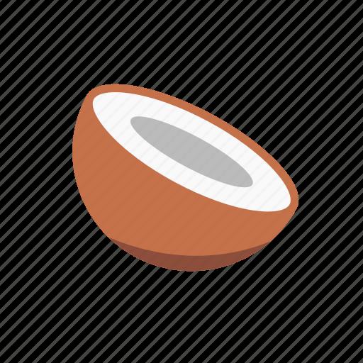 coconut, food, fruit icon