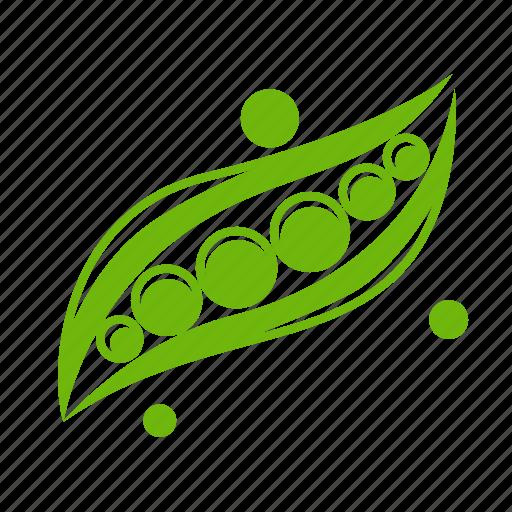 food, pea, peas, vegetable icon